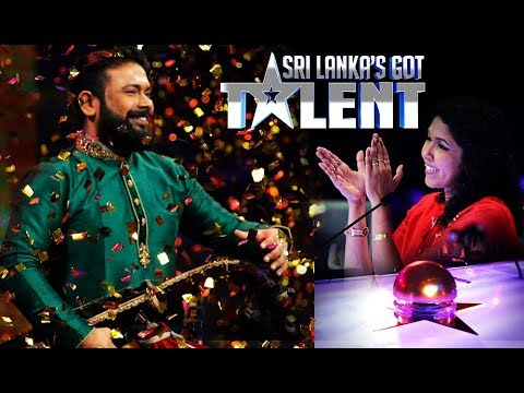 කොහොමද වාගීෂන්ගේ වාදනය - 'Sri Lanka's Got Talent': Wageeshan Wins Saundarei's Golden Buzzer!