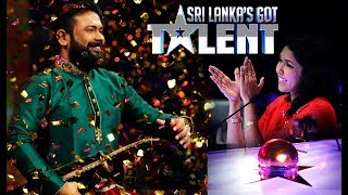 කොහොමද වාගීෂන්ගේ වාදනය - 'Sri Lanka's Got Talent': Wageeshan Wins Saundarei's Golden Buzzer! Thumbnail