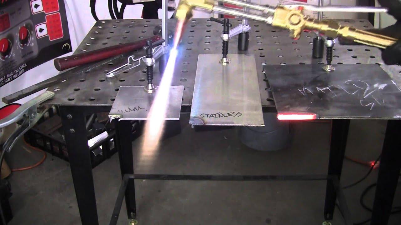 Oxyacetylene Cutting Vs Plasma Cutting Youtube