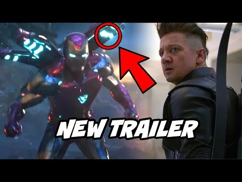 Iron man New Weapon First Look Avengers Endgame New TV Spot Breakdown