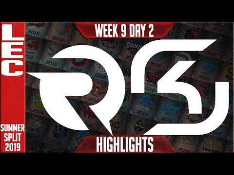 OG vs SK Highlights | LEC Summer 2019 Week 9 Day 2 | Origen vs SK Gaming
