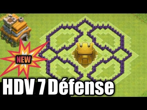 sapin de noel 2018 clash of clans Clash of clans   Hdv7 Défense (rush 3500 trophées)   YouTube sapin de noel 2018 clash of clans