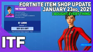Fortnite Item Shop *NEW* I BOUGHT EVERYTHING! [January 23rd, 2021] (Fortnite Battle Royale)