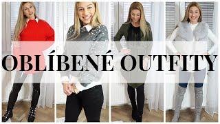 OUTFITY, KTERÉ JSEM NOSILA TENTO TÝDEN | Tipy na trendy outfity