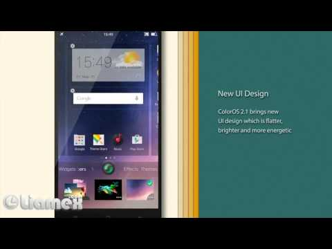 ColorOS V2 1 0i Beta Update Preview new