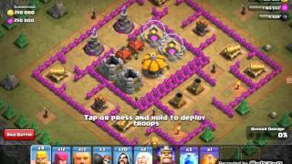 Clash Of Clans Map batle osa 1