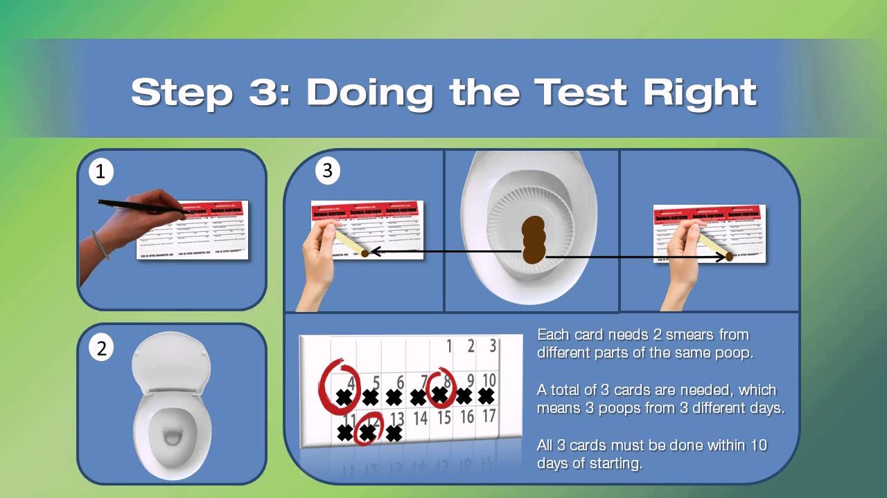 The Fecal Occult Blood Test Fobt By Dr Meghan Davis