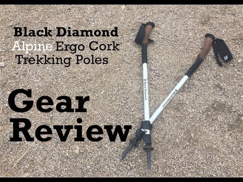 Black Diamond Alpine Ergo Cork Trekking Pole Review Youtube