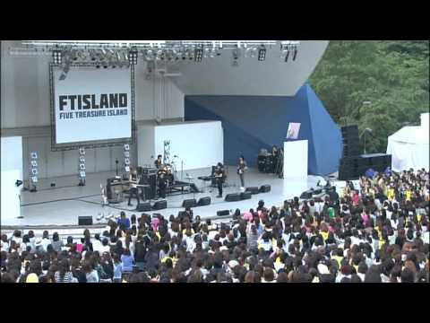 HD FTISLAND LIVE at YOMIURI LAND OPEN THEATER EAST FULL