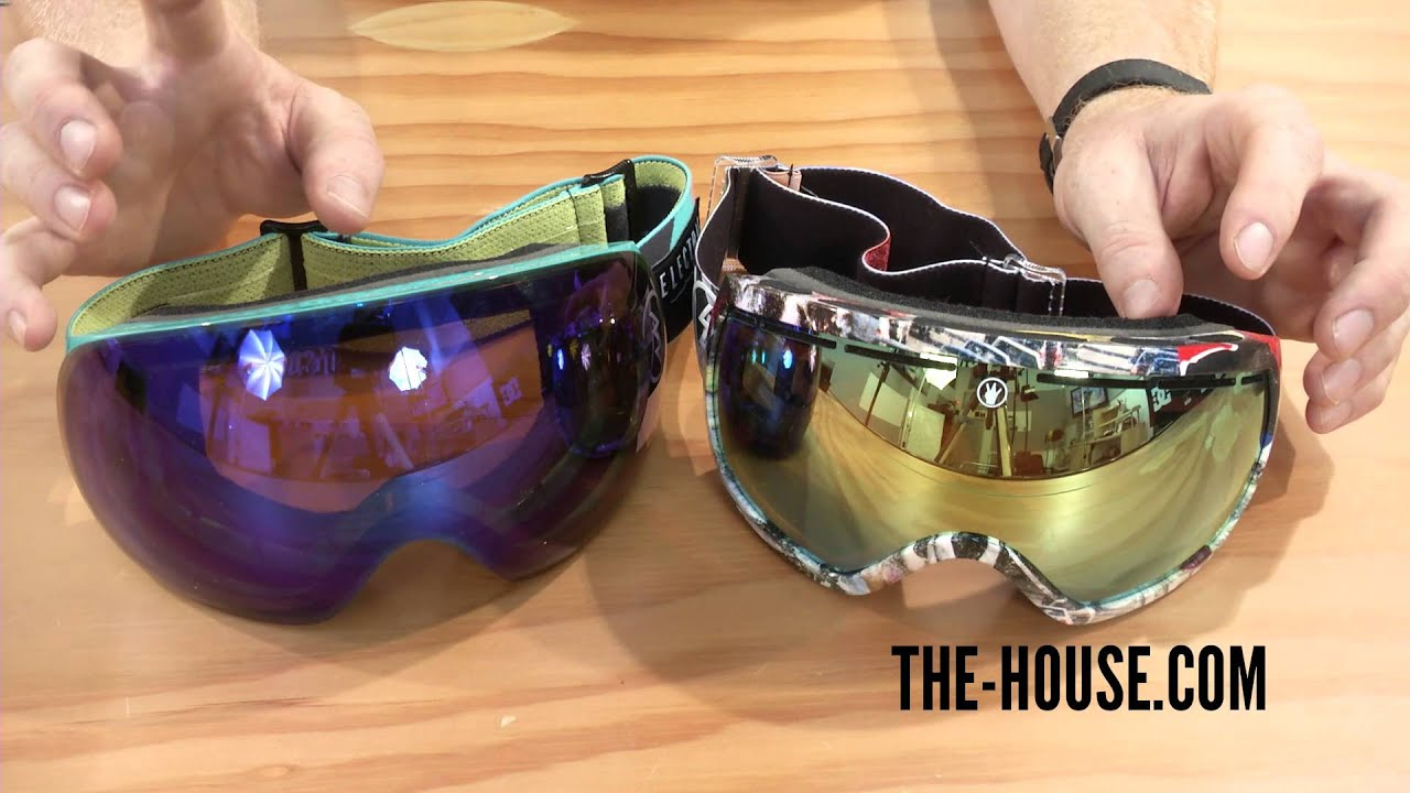 Electric Eg2 5 Vs Eg3 Goggles Review The House Com