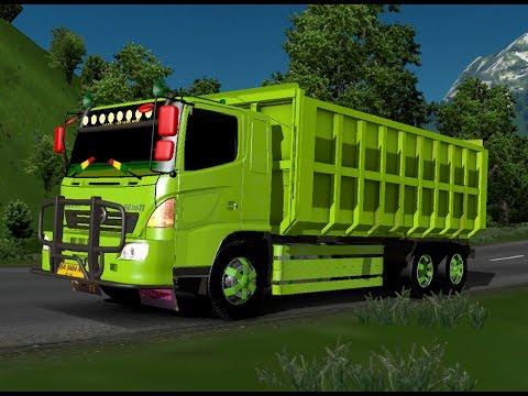 ETS 2 | Hino 500 FG 6 X 4 Dump Truck Perjalanan Extreme Padang Sidempuan - Duri