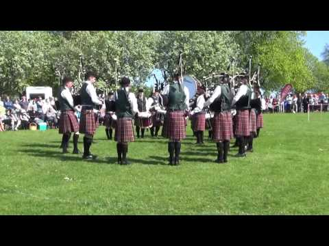 Drumlough Pipe Band Pipe Band @ Ards & North Down Pipe Band Championships 2016 (Grade 2)
