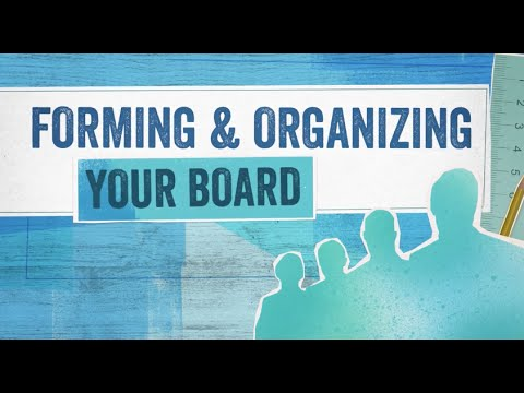 Startup Boards: Forming & Organizing Your Board