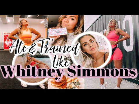 i-ate-and-trained-like-whitney-simmons-for-a-day!!-reviewing-her-merch,-tarte-palette,-&-recipes!