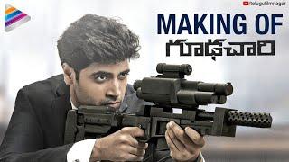 Goodachari Movie Making   Adivi Sesh   Sobhita Dhulipala   2018 Telugu Movies   Telugu FilmNagar