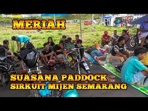 Suasana Paddock Fun Drag Bike Mijen Semarang Terbaru 17 Oktober 2020 Sangat Meriah
