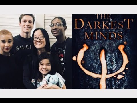 THE DARKEST MINDS CAST  Filming 2017Amandla Stenberg, Harris Dickinson, Miya Cech, Skylan Brooks