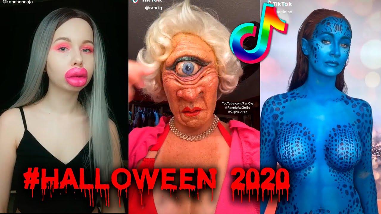 Download 🎃 Halloween 2020 TikToks Compilation - Best Scary Costumes #halloweenlook 🦇