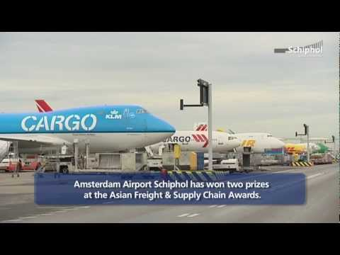 Schiphol voted 'Best Airport Europe' and 'Best Cargo Terminal Europe'