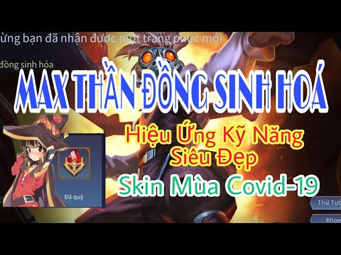 MAX Thần Đồng Sinh Hoá - 1 Đá Quý - Hiệu Ứng Kỹ Năng Siêu Đẹp | Liên Quân Mobile