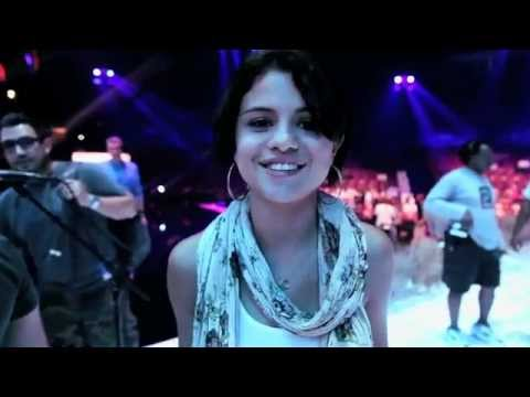 Selena Gomez We Own The Night- Teen Choice Behind The Scenes and first time performance