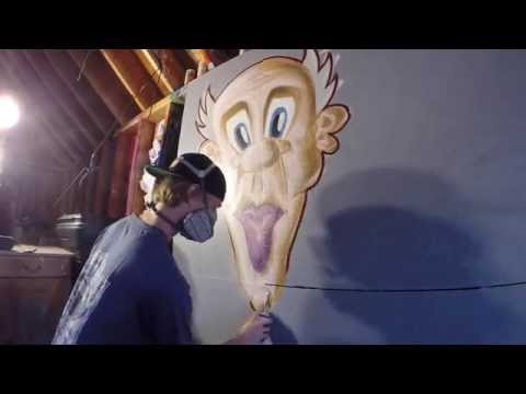 Graffiti Character #2 (Spray Paint)
