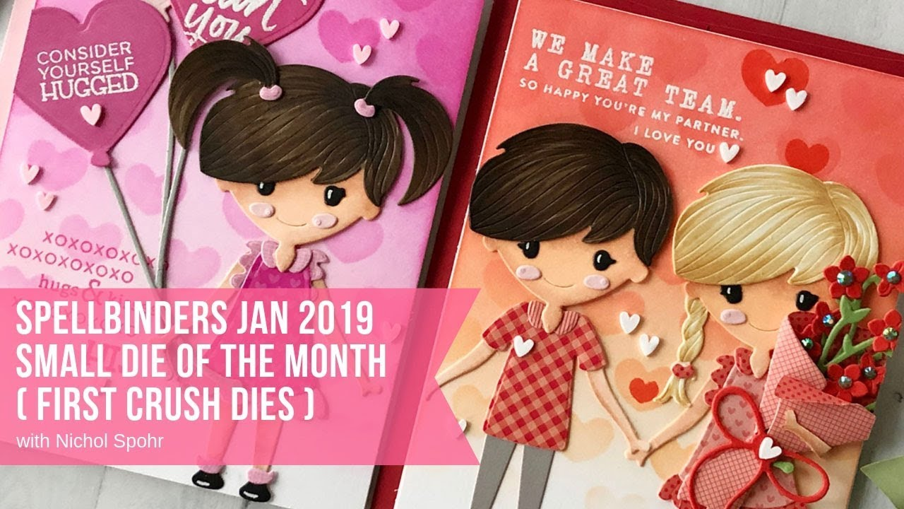 Spellbinders January 2019 Small Die of the Month Spellbinders