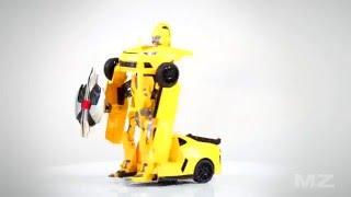 видео Радиоуправляемый робот-трансформер MZ Chevrolet Camaro 1:14 2313P