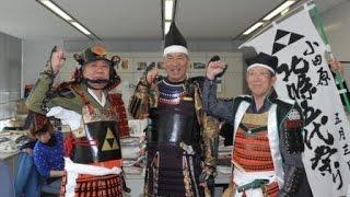 俳優で小田原ふるさと大使の阿藤快さんが4月10日、神奈川新聞社を訪...