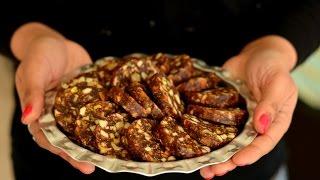 Dates & Nuts Rolls