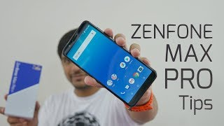 Top 10 ASUS ZenFone Max Pro Tips Tricks Settings