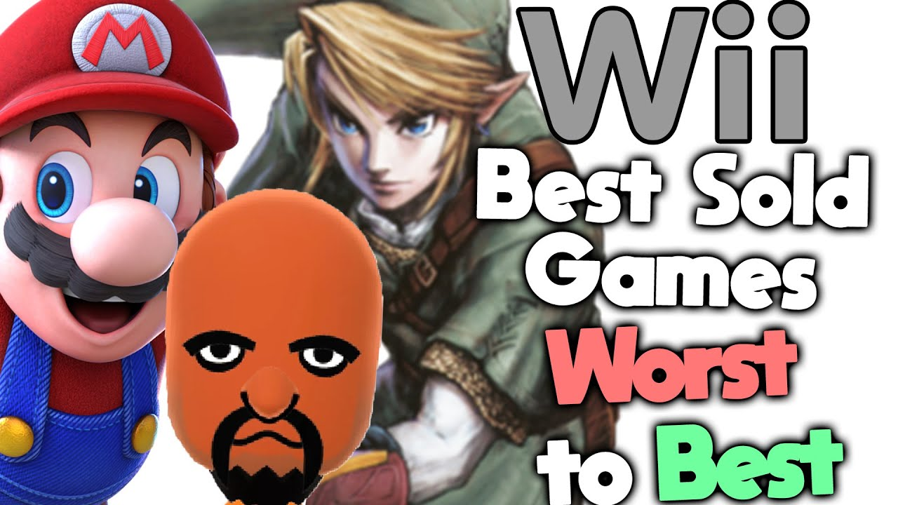 Ranking the Best Selling Wii Games