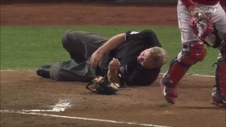 MLB Umpire Injuries