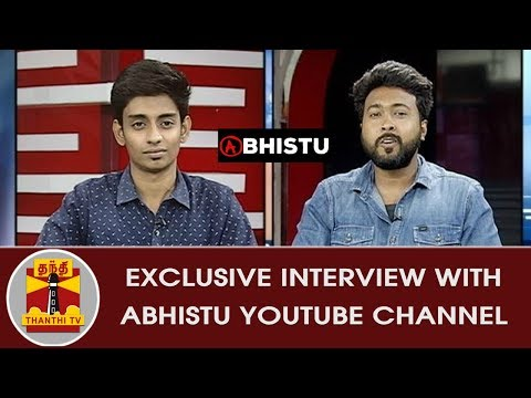 Exclusive Interview with Abhistu Youtube Channel | Inaiya Thalaimurai | Thanthi TV