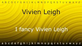 Download lagu How to pronounce Vivien Leigh with Zira mp4 MP3