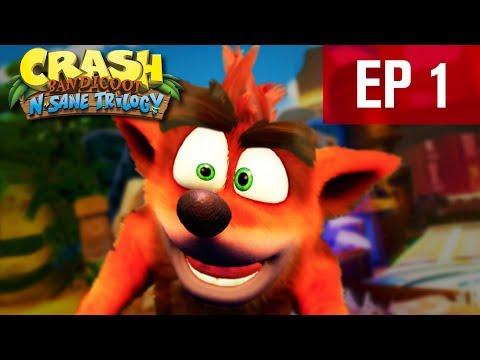 THE RETURN OF CRASH BANDICOOT   Crash Bandicoot N. Sane Trilogy - EP 1