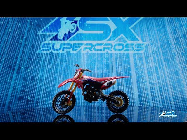 SUPERCROSS Rider and Bike Toys: Justin Brayton