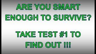 BEST zombie apocalypse survival test number 1 - the outbreak begins