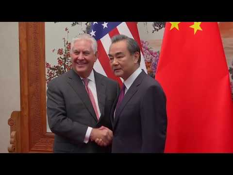 Secretary Tillerson Meets Chinese Foreign Minister Wang Yi in Beijing