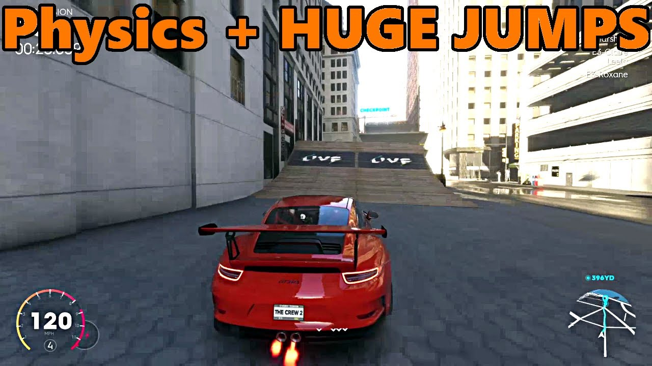 the crew 2 physics explained huge jumps youtube. Black Bedroom Furniture Sets. Home Design Ideas