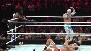 Rey Mysterio, Sin Cara & R-Truth vs. The Prime Time Players & Antonio Cesaro: Raw, Nov. 5, 2012