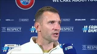 Андрей Шевченко: Я доволен игрой всех дебютантов
