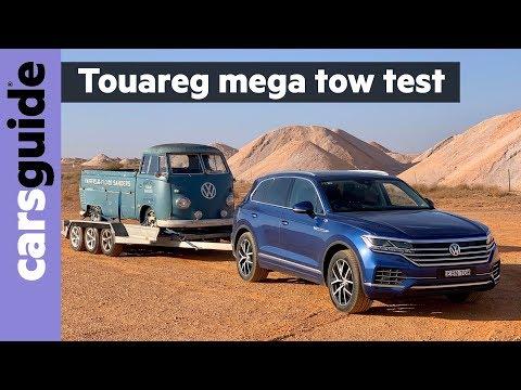 VW Touareg 2020 review: tow test
