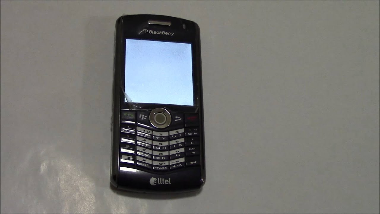 Blackberry pearl 8100 mobile phones images blackberry pearl 8100 - How To Restore A Blackberry Pearl 8130 Smartphone To Factory Settings