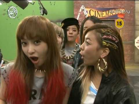 100627 SNSD & f(x) cut @ Showbiz Extra