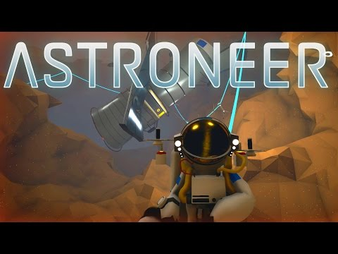 Save Astroneer - Ep. 11 - Excavating the Telescope! - Let's Play Astroneer Gameplay Pics