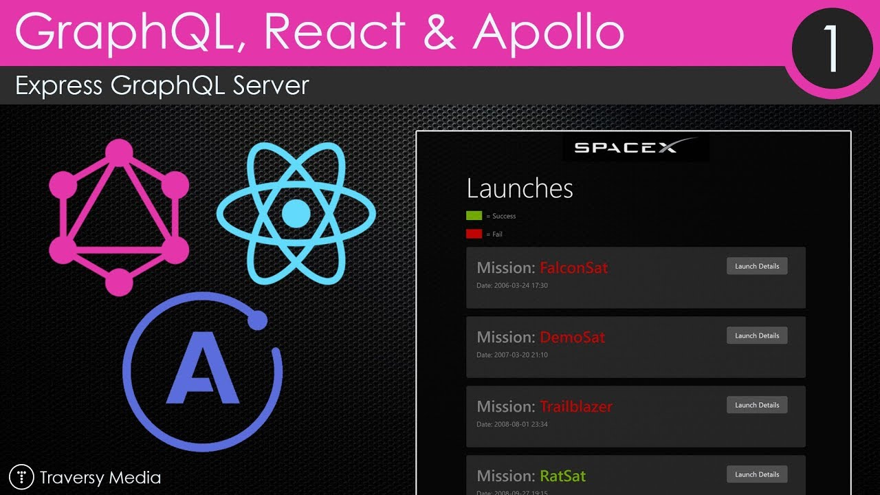 GraphQL With React & Apollo [1] - Express GraphQL Server