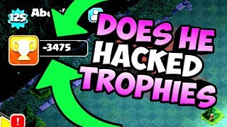 OMG {THE TROPHY HACKER IN COC?} it is 100% real..