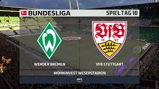 Sv werder bremen : vfb stuttgart 10. spieltag ⚽ fifa 21 bundesliga 🏆 gameplay deutsch