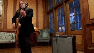 Backstage at the White House: Warren Haynes